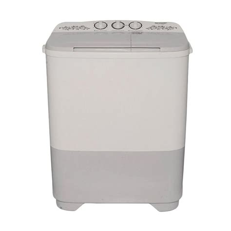 Mesin Cuci Sharp Yang 7 Kilo jual sharp es t75mw hk mesin cuci 2 tabung 7 kg
