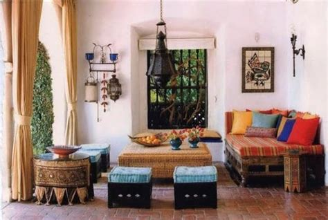 Living Room Furniture Ethnic How To Achieve A Moroccan Style