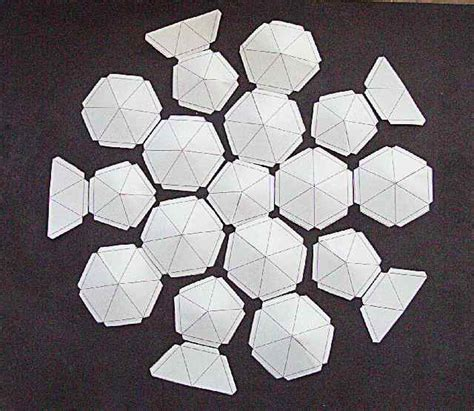 How To Make A Dome Out Of Paper - geodesic dome paper pattern crafts