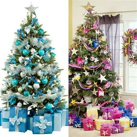 decoracion del arbol navide 241 o con cintas 2015 ideas