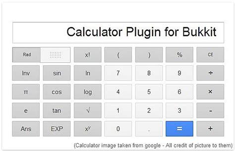calculator mod plugin calculator minecraft mod
