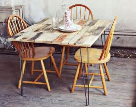 How To Make A Kitchen Table Out Of Pallets Wood Pallet Table Diy A Beautiful Mess