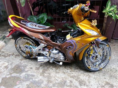 modifikasi motor jupiter z mx 135 cc 50 gambar modifikasi motor jupiter z mx 135 cc curan
