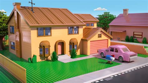 simpsons house lego simpsons episode trailer released with 10 screencaps slashgear