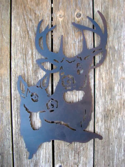 stag and doe wall d 233 cor mondus distinction garden decor