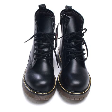 mens leather combat boots mens ankle boots