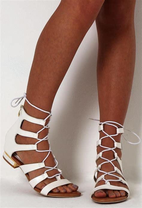 white lace up sandals white lace up sandals crafty sandals