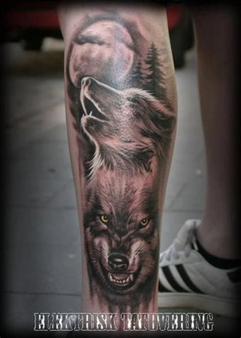 wolf pack tattoo 25 best realistic wolf tattoos images on