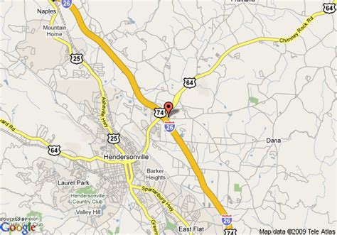 hendersonville carolina map map of quality inn and suites hendersonville