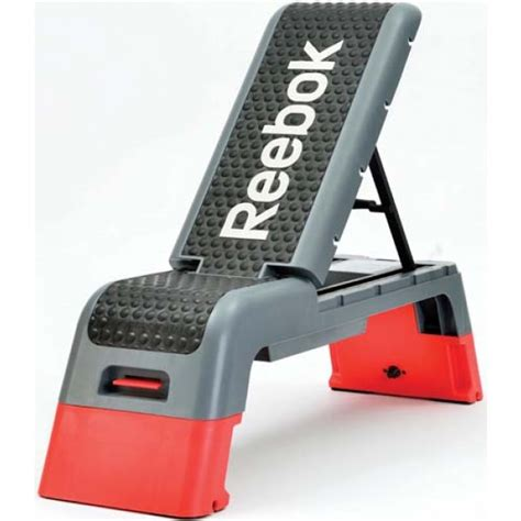 reebok step bench reebok deck work out bench ebay