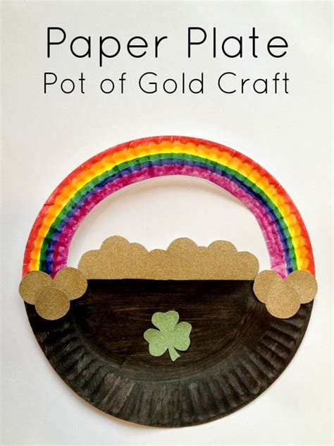 Simple Paper Plate Crafts - 17 best images about st s day crafts activities