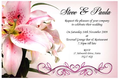 wedding invitation design card invitation templates