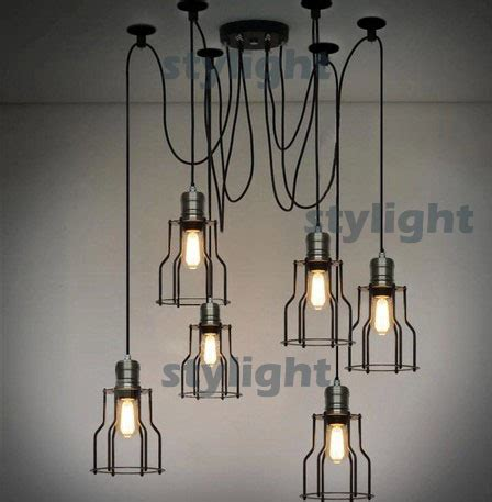country style lighting loft l american country style lighting vintage cage