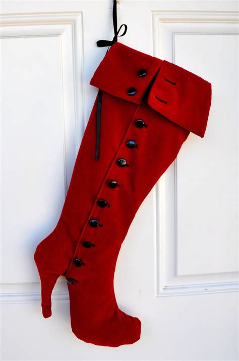 pattern for high heel christmas stocking pin by trish borg on stockings pinterest
