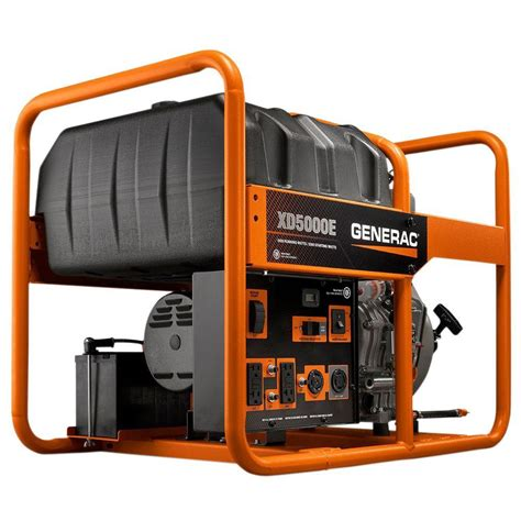 generac xd 5 000 watt diesel powered electric start