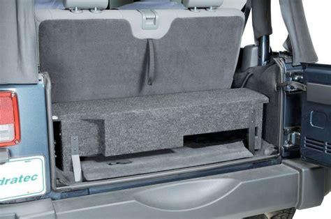 Jeep Wrangler Unlimited Subwoofer Box Quadratec Jkfs Boxl3 Custom Rear Subwoofer Enclosure