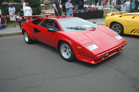 1985 Lamborghini Countach 1985 Lamborghini Countach At The Scarsdale Concours New York