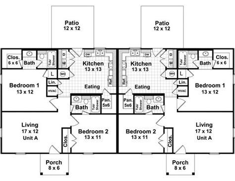 1000 ideas about duplex house plans on pinterest duplex