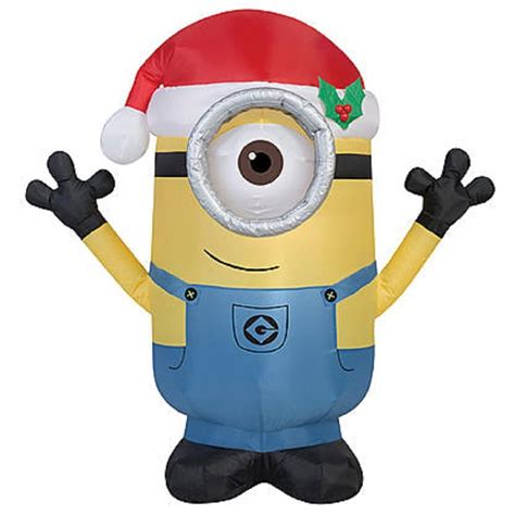 minion outdoor christmas decor minions outdoor inflatables wikii