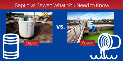 septic vs sewer what you need to