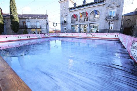la pista de hielo una aver 237 a retrasa hasta el martes 5 la apertura de la pista de hielo de alpedrete aqu 237 en la