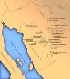 map of sonora parallel histories eusebio kino historias