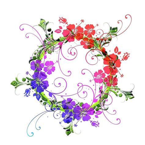 design bunga floral free illustration flowers floral design flora free