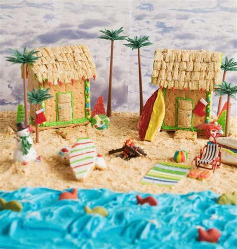 gingerbread beach house graham cracker beach house peanut butter cookie