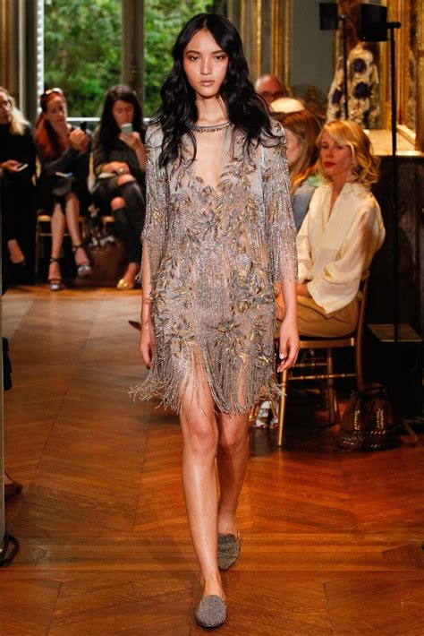 Catwalk To Carpet Maribel Verdu In Alberta Ferretti 2 by Haute Couture Alberta Ferretti Fall 2016 Image