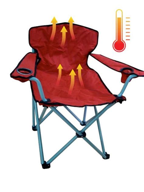 heated armchair heated chairs folding chair with heated system great for tailgating cing