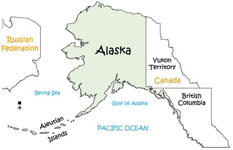 states that border texas map alaska bordering states images