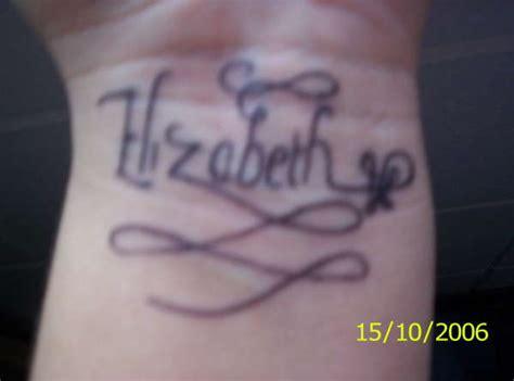 elizabeth tattoo elizabeth