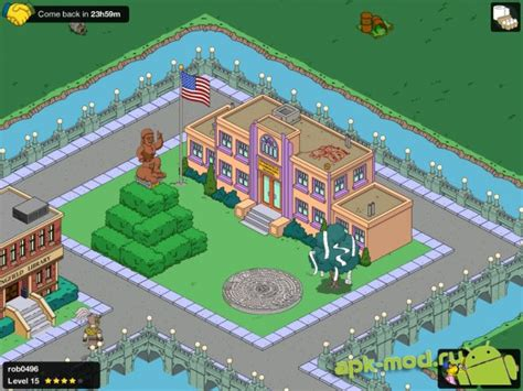 the simpsons tapped out apk the simpsons tapped out скачать apk на android взломанная версия mod 187 моды хаки и