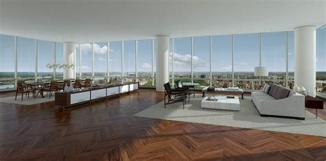 penthouses in new york this is what a 100 million penthouse from new york looks