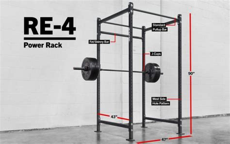 Workout Flooring by Rogue Re 4 Echo Rack Weight Training 2x2 Quot 11 Gauge Steel