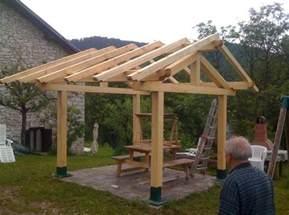 diy gazebo roof interesting ideas for home