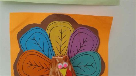 Paper Cup Turkey Craft - paper cup animals craft idea for crafts and