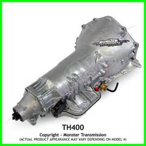 turbo 400 th400 transmission 4 quot rebuilt th400