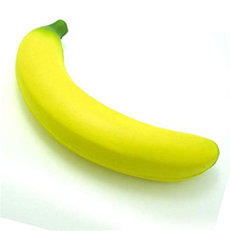 Squishy Banana material pu foam friendly quantity 1 size 13