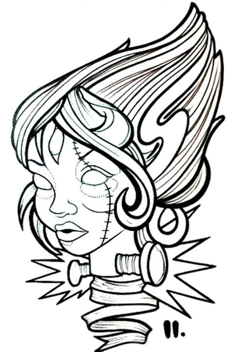 new school frankenstein tattoo 26 best new school images on pinterest tattoo ideas