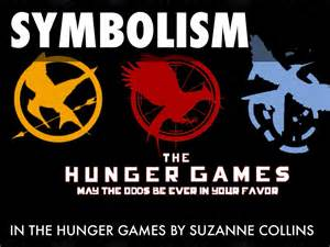hunger games symbolism by yazmine o