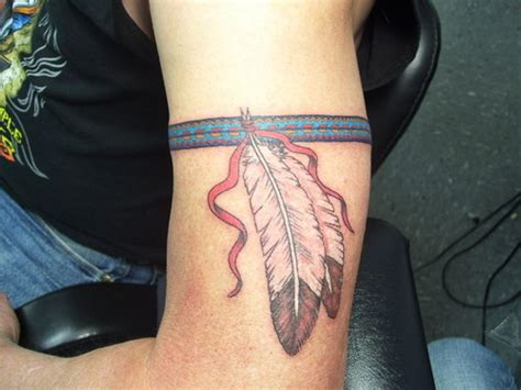 cherokee indian tattoos custom cherokee arm band