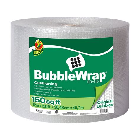Pack Buble Wrap Packing Tambahan Limited review of duck brand wrap original cushioning