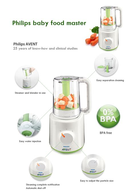 Blender Mini Avent philips avent steamer and blender white lazada malaysia
