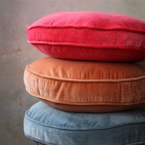 Do Cleaners Clean Cushions by Single Pink Velvet Cushion 50cm 100 Cotton