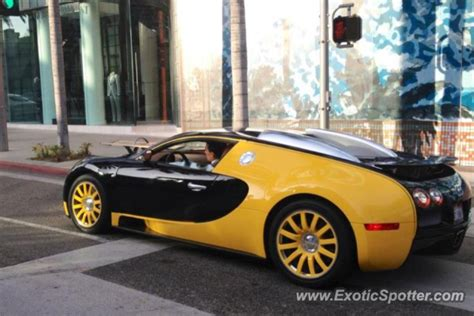 bugatti veyron spotted in los angeles california on 04 02