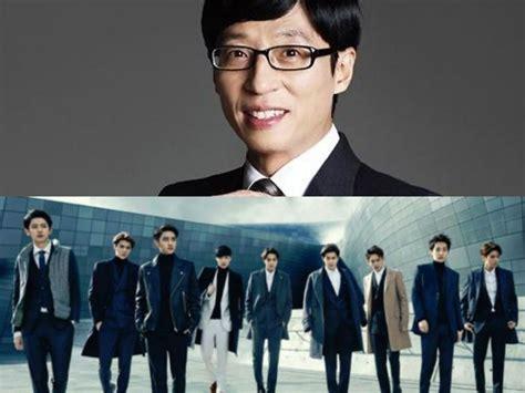 exo yoo jae suk exo plans special stage with yoo jae suk for quot infinite