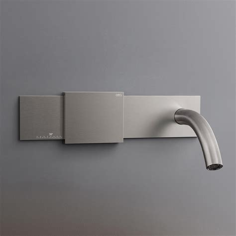 bathtub faucet temperature control cea regolo bathroom faucet debuts sliding temperature control