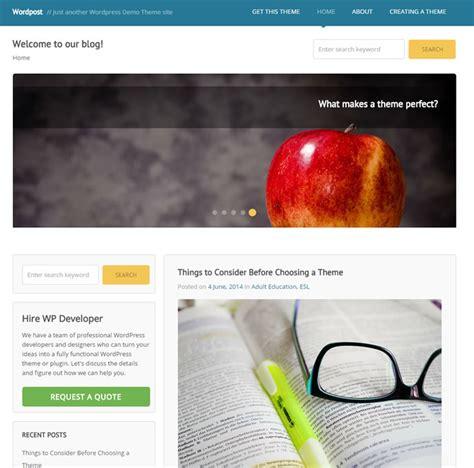 wordpress themes free header image best free wordpress themes with full width header image 2018