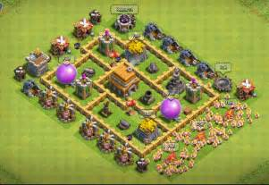 Of clans town hall level 5 defense th5 war base 10 thats my top 10